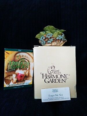 "Lord Byron's Harmony Garden ""FORGET ME NOT"" ~ 1998 Retired ~MIB"