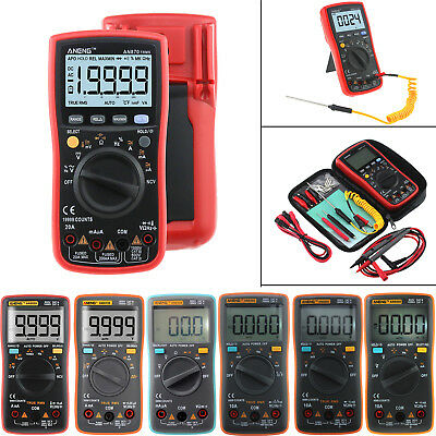 ANENG AN870 19999 zählung True-RMS Auto Range Digital Multimeter NCV AC/DC Meter