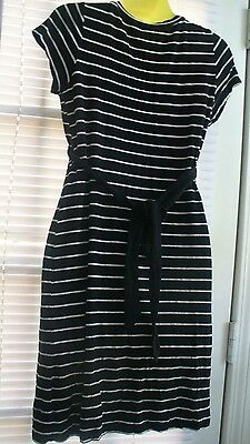 Pea In The Pod  Maternity   Knit Dress--Sz  Med---Stripes