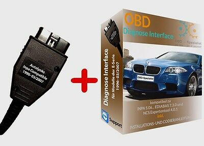 DIAGNOSE INTERFACE für Inpa Ediabas, Software passt für BMW E60 E39 E46 E53 E87