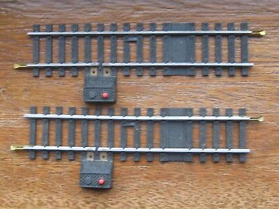 Jouef 2 x Ref 4850. Isolating Track. Single Cut. One Power Input. HO Scale. Box.