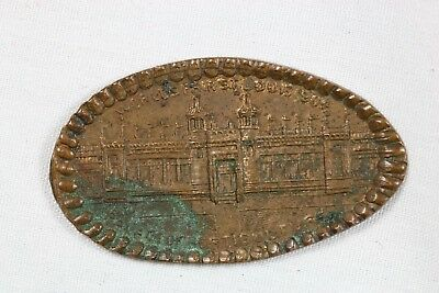 St Louis World's Fair Elongated Indian Head Penny Horticulture 1904