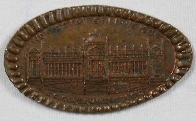 St Louis World's Fair Elongated Indian Head Penny Government Building 1904