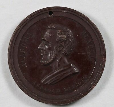 Abraham Lincoln Union Coffee Company Limited Token New York