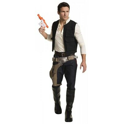 Han Solo Costume Adult Star Wars Halloween Fancy Dress