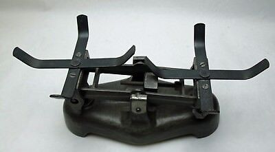 Vintage Cast Iron Metal weight scale