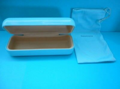 Tiffany & Co Eyeglass sunglasses Case with drawstring Eyeglass Pouch authentic