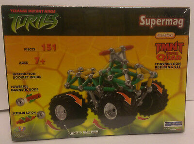 Magnet Spiel SUPERMAG, Constructions-Set, Teenage Mutant Hero Turtles Quad, NEU!