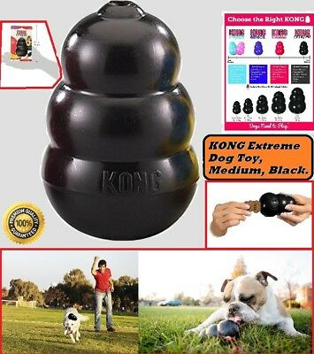 World's Best Dog Toy KONG Classic Rubber Chew Toy For Dogs Stuffing Medium Treat