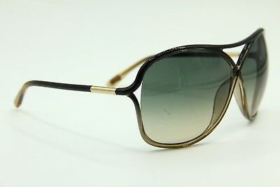 New Tom Ford Tf 184 20B Vicky Brown Gradient Authentic Sunglasses 65-10 W/case