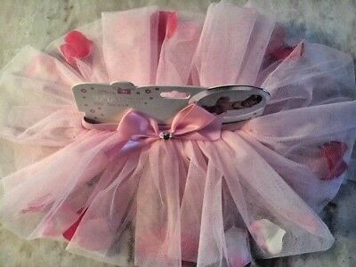 So Dorable PINK TuTu Skirt with Pretty Petals Special Photo Shoot 0-3 months