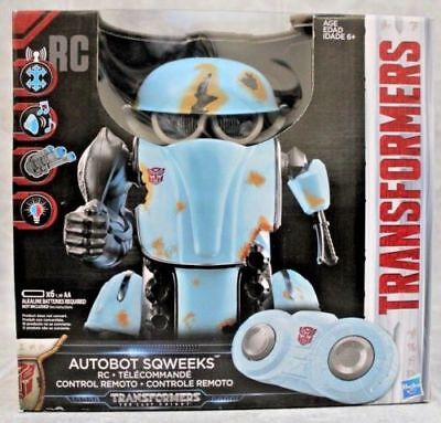 Transformers The Last Knight Autobot Sqweeks Rc Remote Control Hasbro New Sealed
