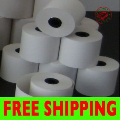 """2-1/4"""" x 150' THERMAL PoS RECEIPT PAPER - 30 NEW ROLLS  ** FREE SHIPPING **"""