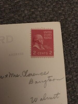 2 Cent John Adams Stamp