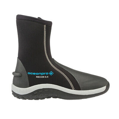Water Sports Well-Educated Seac 6mm Neoprene Pro Hd Wetsuit Boots With Side Zipper