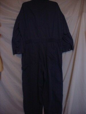 Vtg Big Mac Coveralls Blue Size 44-28 Long Sleeve
