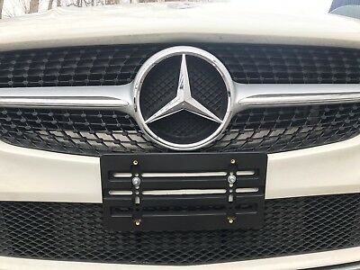 REAR LICENSE PLATE TAG HOLDER MOUNT BRACKET 8 BOLTS WRENCH for MERCEDES-BENZ