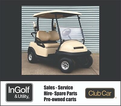 2014 Club Car Precedent Electric Golf Cart Golf Buggy New Batteries