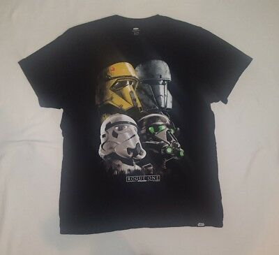 STAR WARS Rogue One Storm Troopers OLD NAVY Collectabilitees T-Shirt Men's XXL