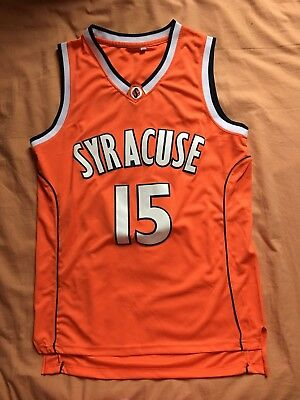 7ccc1a0d6c0 Carmelo Anthony # 15 NCAA Syracuse College Basketball Jersey .Orange white  Gray Sports Mem, Cards & Fan Shop