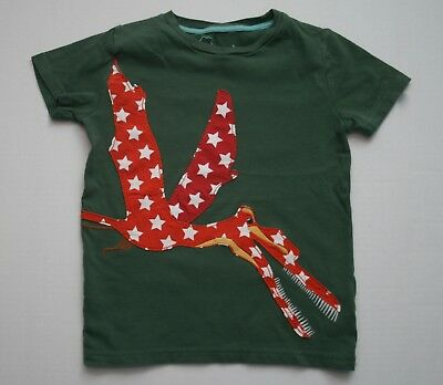 Boys Mini Boden Quetzalcoatlus Applique Tee Size 7 8 Years