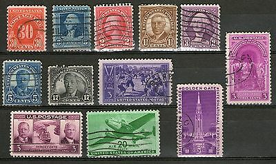 United States #6 -  Stamps from Old Collection - Used