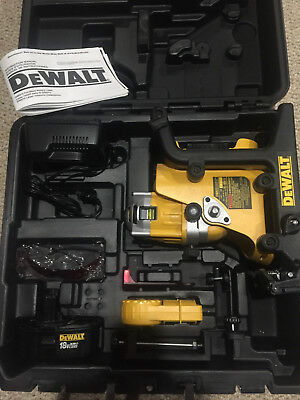 *Used Once, Like New* Dewalt DW073 Cordless Rotary Laser 18 Volt Combo Kit