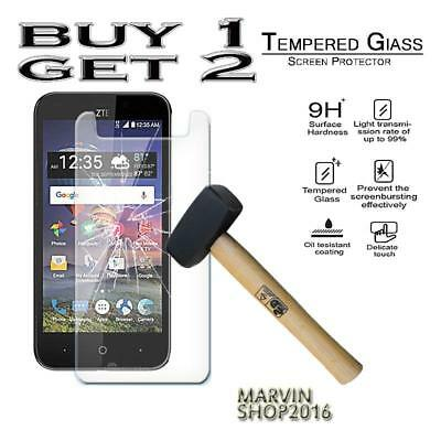 Genuine Tempered Glass Film Screen Protector Cover For ZTE ZFive 2 LTE