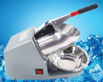300W Ice Shaver Machine Electric Snow Cone Maker Shaving Crusher Party 143lb