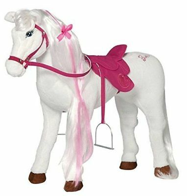 NEU B-WARE: Happy People 58055 - XL Plüsch Pferd Barbies Majest