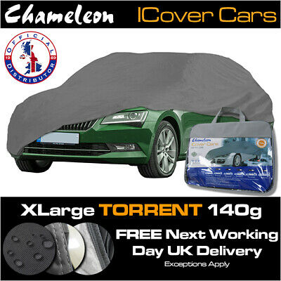 PREMIUM XL Car Cover  Waterproof with Cotton Anti-scratch Lining Corner Straps