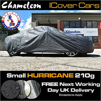 HEAVY DUTY 210G Small Car Cover 100% Waterproof, UV Protection, Double Stitched