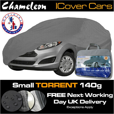 Car Cover (Small) 100% Waterproof Snow-proof UV Protection Heavy Duty 140g