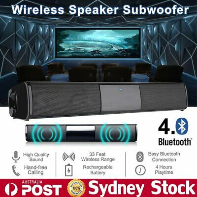 3D Stereo TV Home Theater Soundbar Bluetooth Sound Bar Speaker System Subwoofer