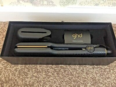 new ghd V Gold max hair straightener / professional styler