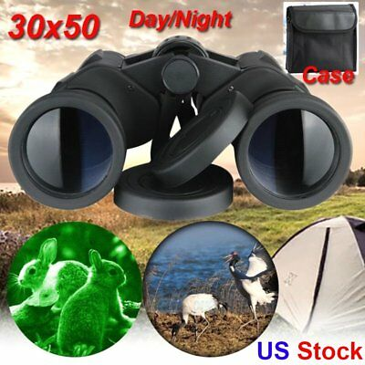 20x50 Zoom Day Night Vision Outdoor Travel HD Binoculars Hunt Telescope+Case OY