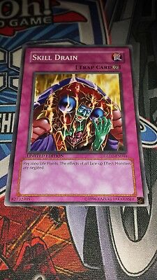 - Skill Drain - GLD1-EN044 - Common - Limited - M/NM Yugioh
