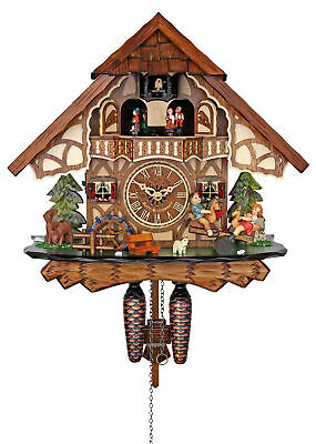 Engstler Quartz Cuckoo Clock -  The Merry Children AH 4916 QMT NEW