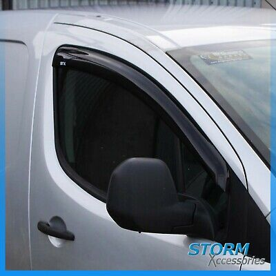 Peugeot Partner 2008 On Stx Wind Deflectors - Wind Visors - External Fit