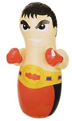 Inflatable Intex 3D Bop Bag Pirate/Wrestler Kids Toy Gift Indoors Free Standing