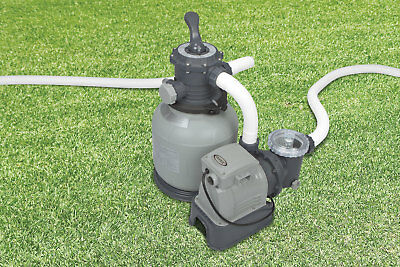 Pump filter sand 7900 l/h with timer and valve X pools Intex cod. 28646