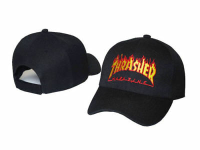 921bf466d82 THRASHER EMBROIDERY DRAKE Hat Baseball caps Dad Hats Magazine Flame CAP -   12.99