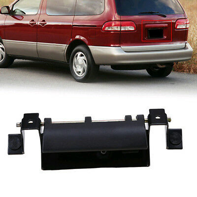 Black Rear Back Trunk Liftgate Tailgate Door Handle For Toyota Sequoia Sienna