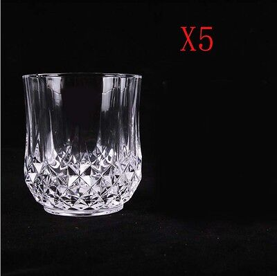 New 5X Capacity 320ML  Height  94MM  Transparent  Red Wine Glass/Glassware %