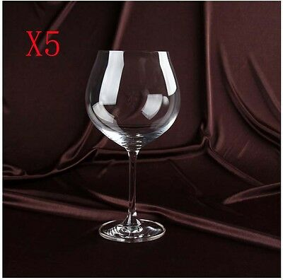 New 5X Capacity 750ML  Height  212MM  Transparent  Red Wine Glass/Glassware %