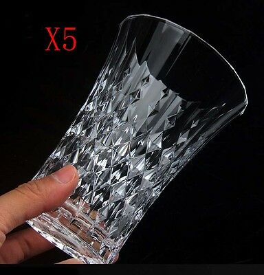 New 5X Capacity 360ML Height 130MM Lead Free Whisky Wine Glass/Glassware %