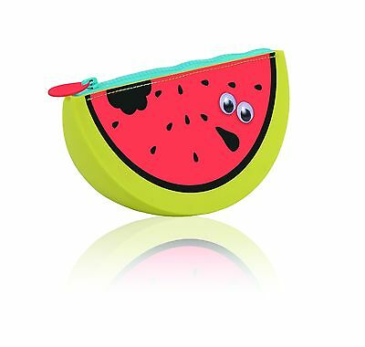 Watermelon Scented Pencil Case Stationery Cosmetic Bag Large