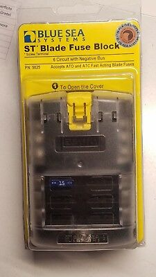 Blue Sea Systems 5025 6 Position Fuse Block