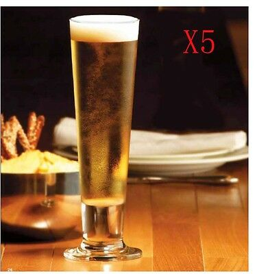 New 5X Capacity 420ML Height 240MM Transparent Large Beer Wine Glass/Glassware %