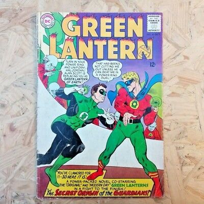 Green Lantern Vol 2 #40 (1965) KEY ISSUE - Condition FN+ (6.5)